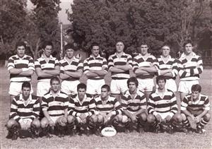 Equipo con la camada 69 - Rugby -  - Club Atlético de San Isidro -