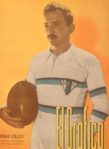 El Grafico: Jorge Cilley 1939 - Memorabilia -  - San Isidro Club -