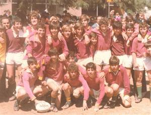 5ta despues del durísimo triunfo 11-6 a CUBA en el colegio - Rugby -  - Newman -