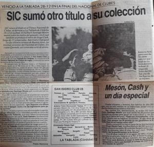 SIC sumo otro titulo a su coleccion - Rugby - Superior (M) - San Isidro Club -