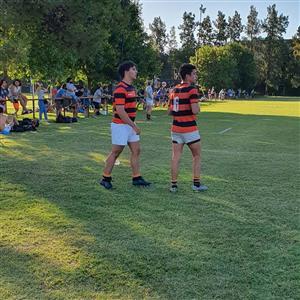 Caco a punto de entrar otra vez a la cancha para jugar con Depo - Rugby -  - Olivos Rugby Club -