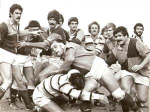 CUBA vs SIC, año 1987 - Rugby - Superior (M) - Club Universitario de Buenos Aires - San Isidro Club