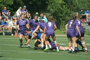 Sport Photo Book by Juan Alchourron - Rugby - 1 contre 7. Puissance pure. - Université de Montréal - 2021/Sep/19