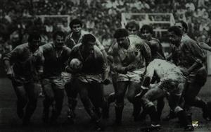 Branca, Eliseo Nicolas - Rugby - Los Pumas 6 vs Inglaterra 12 - Selección Argentina de Rugby - 1981/Oct/10