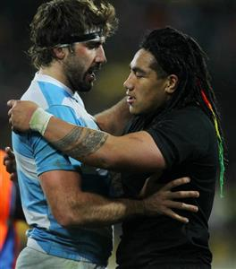 Two rivals, two friends - Rugby -  - New Zealand national rugby union team -