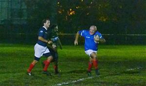 Corriendo con mi amigo el Sr Juez - Rugby -  -  -