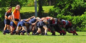 Sport Photo Book by Juan Alchourron - Rugby - Nice scumming - Town of Mount Royal RFC - 2018/Jun/09