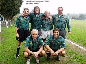 6 hermanos en primera, 20 (o 30) años después - Rugby -  - Los Cedros -