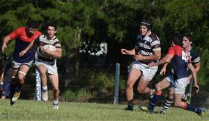 A correr - Rugby -  - Club Atlético de San Isidro - Asociación Deportiva Francesa