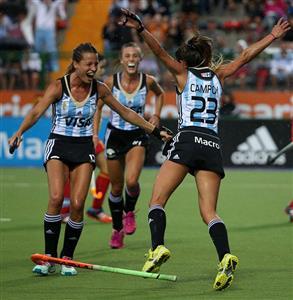 Golazo ! - Field hockey -  - Selección femenina de hockey sobre césped de Argentina -