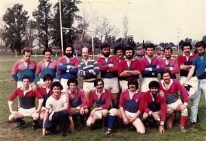 Equipo de 1982 - Rugby -  - Asociación Deportiva Francesa -