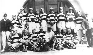 Equipo campeón en 1925 - Rugby -  - Club Atlético de San Isidro -