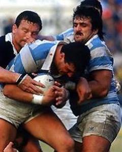 Jugando para Los Pumas - Rugby -  -  -