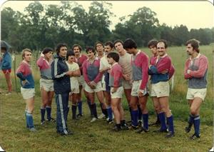 Escuchando la charla de Carlitos Avila - Rugby -  - Asociación Deportiva Francesa -