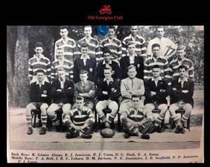 Equipo de 1960 - Rugby -  - Old Georgian Club -