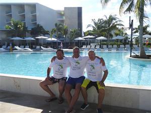 Miembros fundadores, celebrando la victoria en Cancún - Polo -  - Piritubao Polo Club -
