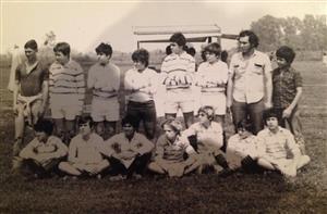 1976 - El tiempo pasa y nos vamos volviendo viejos - Rugby -  - Club San Fernando -