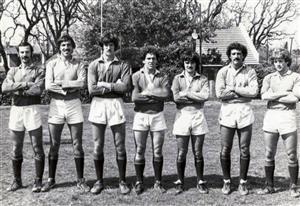 Equipo de seven, 1982 - Rugby -  - Club Manuel Belgrano -