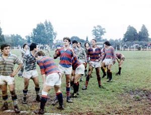 Alguna division juvenil, en 1982 - Rugby -  - Hindú Club - Curupaytí Club de Rugby