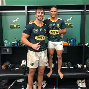 Twins - Rugby -  - South Africa national rugby union team -