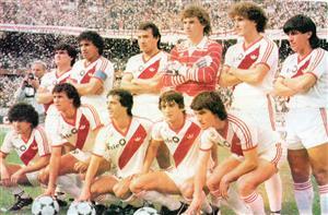 Equipo de 1986 - Soccer -  - Club Atlético River Plate -