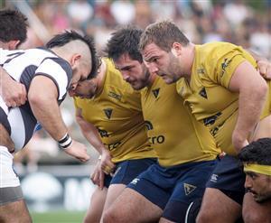 Primeras lineas - Rugby - Superior (M) - La Plata Rugby Club - Club Atlético de San Isidro