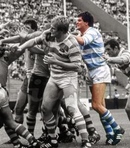 Allen, Jorge - Rugby - Jorge Allen, de los mejores forwards que tuvieron los Pumas en su historia. 3° línea del CASI, con  - Selección Argentina de Rugby - 1984/Aug/01