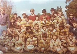 Gran recuerdo creo año 81 - Rugby - M12 (B) - Belgrano Athletic Club -