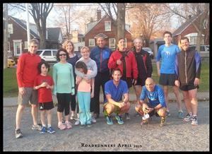 Roadrunners April 2015 - Running -  - NDG Roadrunners -