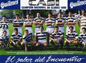Branca, Eliseo Nicolas - Rugby - CASI, campeon de clubes 1995 - Club Atlético de San Isidro - 1995/Sep/15