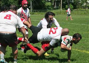 1 contre 5 - Rugby -  - Rugby Club de Montréal - Montreal Exiles RFC