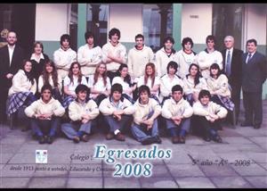 Egresados 2008 - 5to año - Social -  - Colegio San Miguel  -
