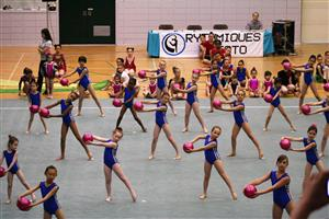 Démonstration - Rhythmic gymnastics -  - QUESTO -