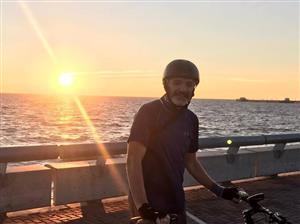 Lo lindo de salir temprano es que te encontrás estas postales - Cycling -  -  -