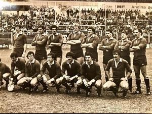Branca, Eliseo Nicolas - Rugby - Partido entre los Pumas y el seleccionado de Tucuman - Selección Argentina de Rugby - 1982/Sep/11