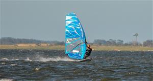 Carlos en la Laguna Garzón - Windsurf -  - Laguna Garzón -