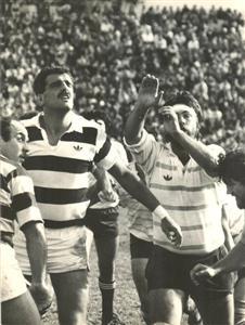 Branca, Eliseo Nicolas - Rugby - Line - Club Atlético de San Isidro - 1983/May/12