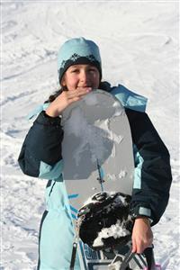 Snowboarding, day one - Alpine skiing -  - Bromley Mountain Resort -
