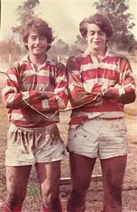 Con un gran amigo, Martin Agulleiro (QEPD) - Rugby -  -  -