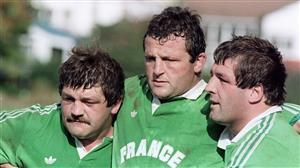 Les 3 de la première ligne - Rugby -  -  -