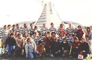 Équipe de 1983 - Rugby -  - Parc Olympique Rugby - 1983/Sep/08