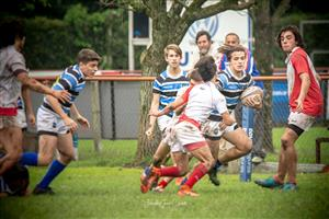 Hand off - Rugby - M16 (M) - Liceo Naval - Mariano Moreno