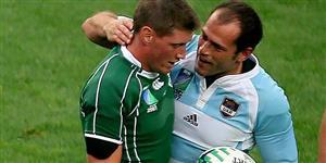 Contepomi, Felipe - Rugby - Enemigos: Felipe Contempomi y Ronan O'Gara -  - 2007/Sep/18