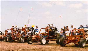Sport Photo Book by Juan Alchourron - Auto racing -  - Pinamar (médanos) - 1988/Jan/20