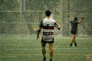 Sport Photo Book by Juan Alchourron - Rugby - Il pleut au Parco ! - Parc Olympique Rugby - 2021/Oct/16