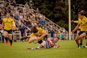 Volando para llegar al try - Rugby -  - La Plata Rugby Club - Club Atlético del Rosario