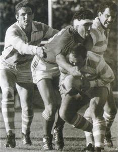 Branca, Eliseo Nicolas - Rugby - Algun partido contra Francia - Selección Argentina de Rugby - 1985/Jun/01
