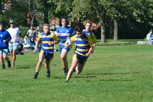 Sport Photo Book by Juan Alchourron - Rugby - Race to the last try #2 - Cegep John Abbott - 2021/Sep/12