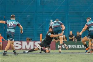 Tackleando bien abajo - Rugby -  -  -