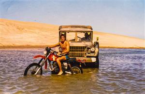 Sport Photo Book by Juan Alchourron - Motorcycle sport -  - Pinamar (médanos) - 1988/Jan/20